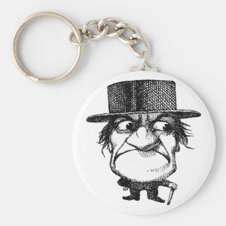Mr Grumpyhead Keychain