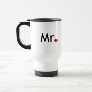 Mr - half of Mr and Mrs set Travel Mug