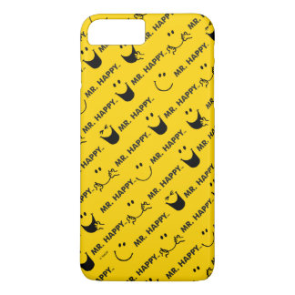 Mr Happy | All Smiles Pattern iPhone 7 Plus Case