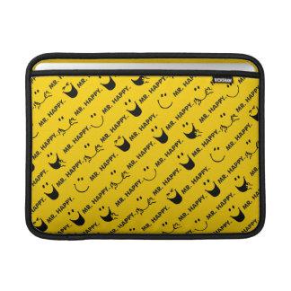 Mr Happy | All Smiles Pattern MacBook Sleeve