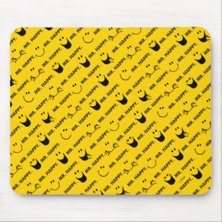 Mr Happy | All Smiles Pattern Mouse Pad