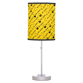 Mr Happy | All Smiles Pattern Table Lamp