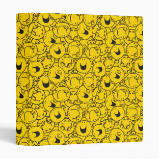 Mr  Happy | Batch of Yellow Smiles Pattern Binder