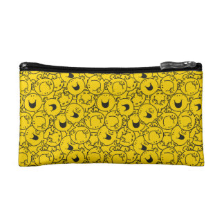Mr  Happy | Batch of Yellow Smiles Pattern Cosmetic Bag