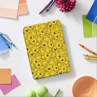 Mr  Happy | Batch of Yellow Smiles Pattern iPad Air Cover