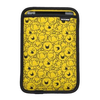 Mr  Happy | Batch of Yellow Smiles Pattern iPad Mini Sleeve