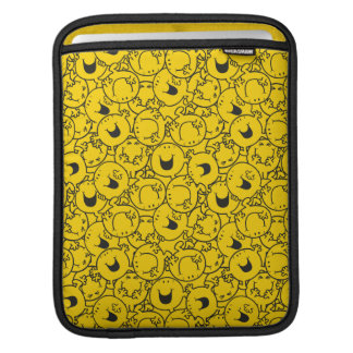 Mr  Happy | Batch of Yellow Smiles Pattern iPad Sleeve