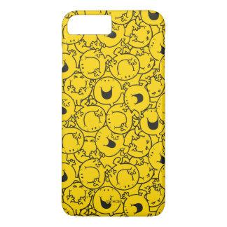 Mr  Happy | Batch of Yellow Smiles Pattern iPhone 8 Plus/7 Plus Case