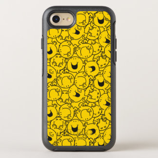 Mr  Happy   Batch of Yellow Smiles Pattern OtterBox Symmetry iPhone 7 Case