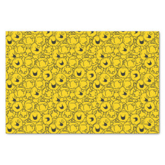 Mr  Happy | Batch of Yellow Smiles Pattern Tissue Paper