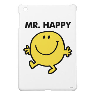 Mr. Happy | Dancing & Smiling iPad Mini Covers