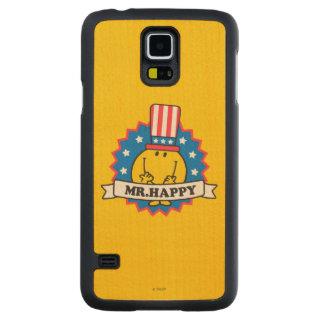 Mr. Happy Election Seal Maple Galaxy S5 Slim Case