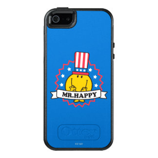 Mr. Happy Election Seal OtterBox iPhone 5/5s/SE Case