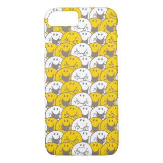 Mr Happy | Flashing Smiles Pattern iPhone 8/7 Case