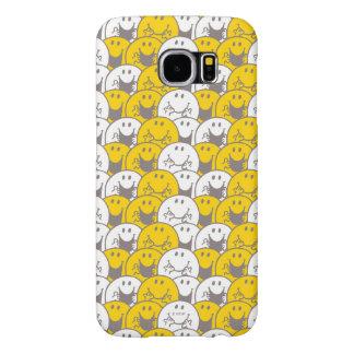 Mr Happy | Flashing Smiles Pattern Samsung Galaxy S6 Cases