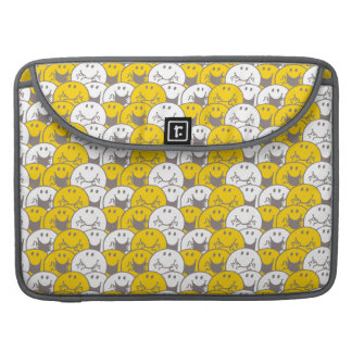 Mr Happy   Flashing Smiles Pattern Sleeve For MacBook Pro