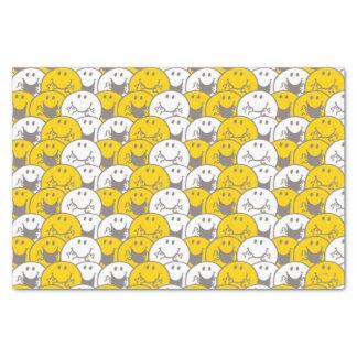 Mr Happy   Flashing Smiles Pattern Tissue Paper