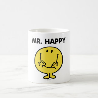 Mr. Happy   Giant Smiley Face Classic White Coffee Mug