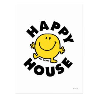 Mr. Happy | Happy House Postcard