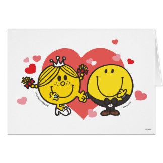 Mr. Happy & Little Miss Sunshine Wedding Card