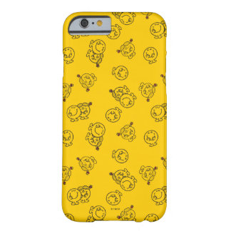 Mr Happy & Little Miss Sunshine   Yellow Pattern Barely There iPhone 6 Case