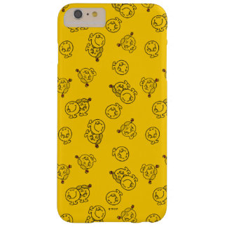 Mr Happy & Little Miss Sunshine | Yellow Pattern Barely There iPhone 6 Plus Case