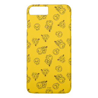 Mr Happy & Little Miss Sunshine | Yellow Pattern iPhone 8 Plus/7 Plus Case