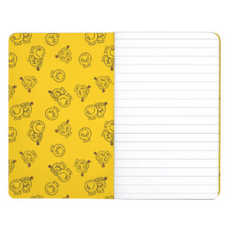 Mr Happy & Little Miss Sunshine | Yellow Pattern Journal