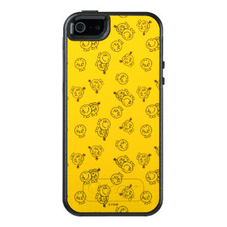 Mr Happy & Little Miss Sunshine | Yellow Pattern OtterBox iPhone 5/5s/SE Case
