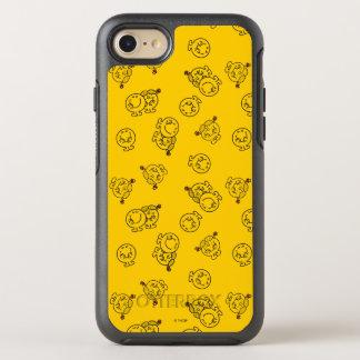 Mr Happy & Little Miss Sunshine   Yellow Pattern OtterBox Symmetry iPhone 7 Case