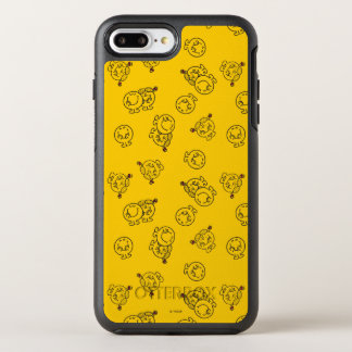 Mr Happy & Little Miss Sunshine | Yellow Pattern OtterBox Symmetry iPhone 8 Plus/7 Plus Case
