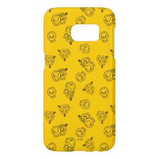Mr Happy & Little Miss Sunshine | Yellow Pattern Samsung Galaxy S7 Case