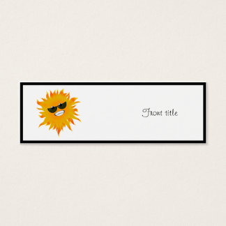 Mr Happy Sunshine - Sunglasses Mini Business Card