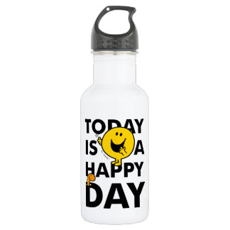 Mr. Happy | Today is a Happy Day 532 Ml Water Bottle