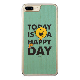 Mr. Happy | Today is a Happy Day Carved iPhone 8 Plus/7 Plus Case