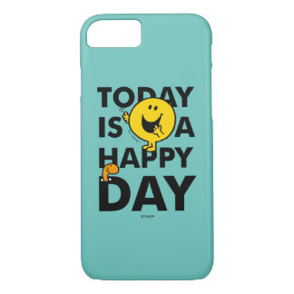 Mr. Happy | Today is a Happy Day iPhone 8/7 Case