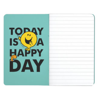 Mr. Happy | Today is a Happy Day Journal