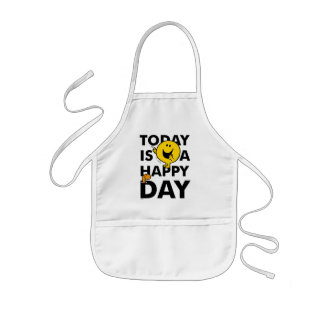 Mr. Happy | Today is a Happy Day Kids Apron