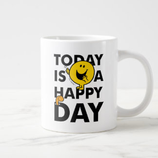 Mr. Happy | Today is a Happy Day Large Coffee Mug