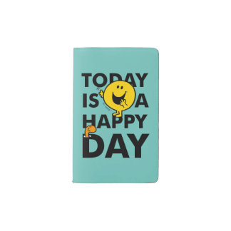 Mr. Happy | Today is a Happy Day Pocket Moleskine Notebook