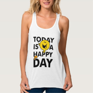 Mr. Happy | Today is a Happy Day Tank Top