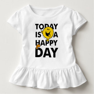 Mr. Happy | Today is a Happy Day Toddler T-shirt
