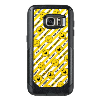 Mr Happy | Yellow Stripes Pattern OtterBox Samsung Galaxy S7 Case
