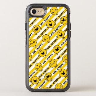 Mr Happy   Yellow Stripes Pattern OtterBox Symmetry iPhone 7 Case