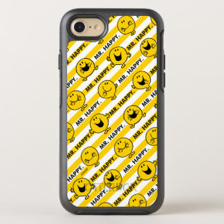 Mr Happy | Yellow Stripes Pattern OtterBox Symmetry iPhone 8/7 Case