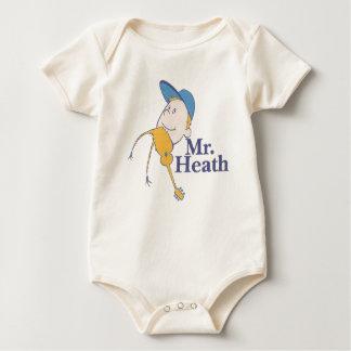 Mr. Heath Baby Bodysuit