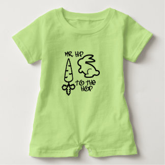 """Mr. Hip to the Hop"" Baby Romper"