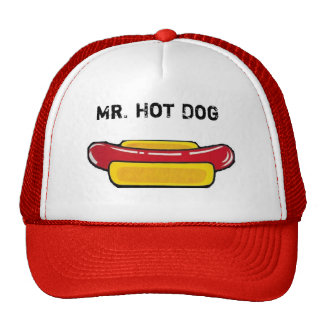 Mr. Hot Dog Cap Trucker Hat