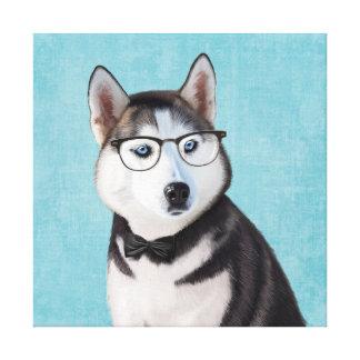 Mr Husky Canvas Print