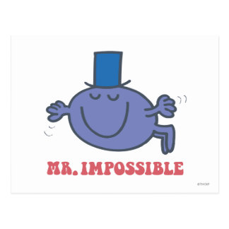 Mr. Impossible In Flight Post Cards